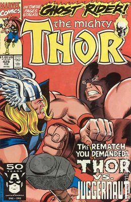 Thor (1st Series Journey Into Mystery) #429 1991 VF Stock Image