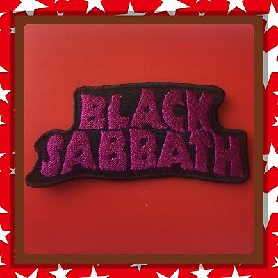 🇨🇦 Black Sabbath Heavy Metal Embroidered Patch  Sew On/stick On /New