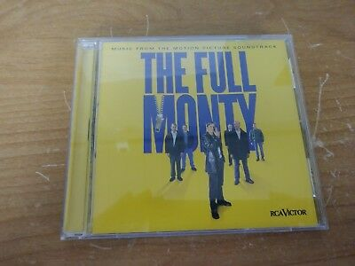 The Full Monty Motion Picture Soundtrack Music Cd Album Disc Rca Victor Bmg 1997