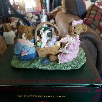 Boyds Bearstone Esther and Burt Springfield Sspecial Occasion  1st Edition