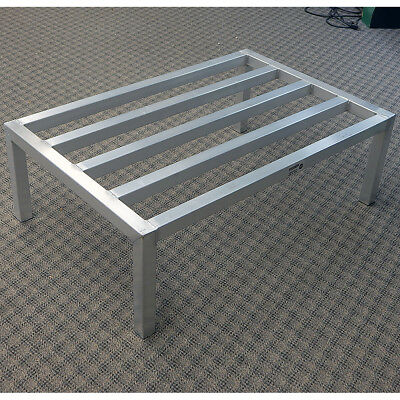 """Evernew D13624/12 Aluminum Dunnage Rack Heavy Duty 36"""" x 24"""" x 12"""" NSF Approved"""