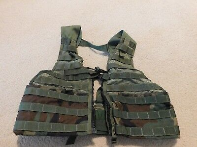 Us Army Molle Ii Woodland Fighting Load Carrier Vest