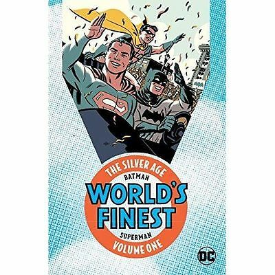 Batman & Superman in Worlds Finest TP The Silver Age Vol 1 by Various, NEW Book,
