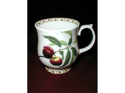 Rosina/Queen's England HOOKER'S FRUIT English Peach Footed Mug Cup