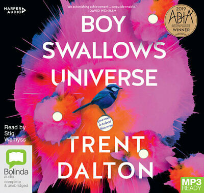 NEW Boy Swallows Universe By Trent Dalton CD in MP3 Format Free Shipping
