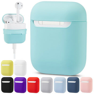 Soft Silicone Durable Case Protective Cover For Apple Air Pods Charging Case