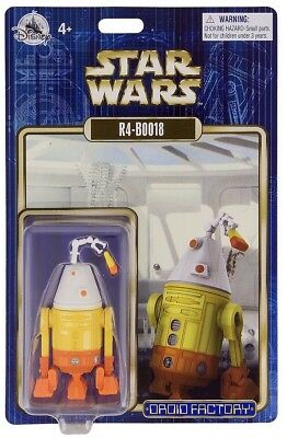 Disney Parks 2018 Star Wars R4-B0018 R4-BOO18 Halloween Droid Factory Figure