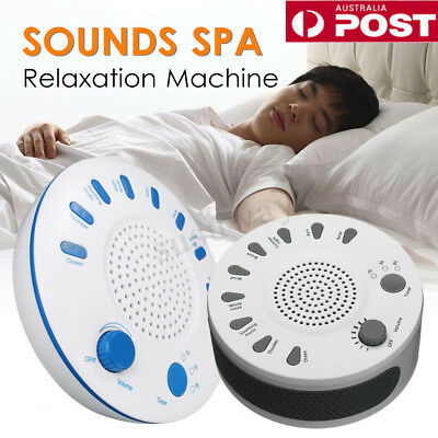 9 Sounds Spa Deep Therapy Sleep Machine Adult Kid Nature Noise Night Relaxation