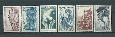 FRANCE - 1946 YT 759 à 764 - TIMBRES NEUFS** MNH LUXE
