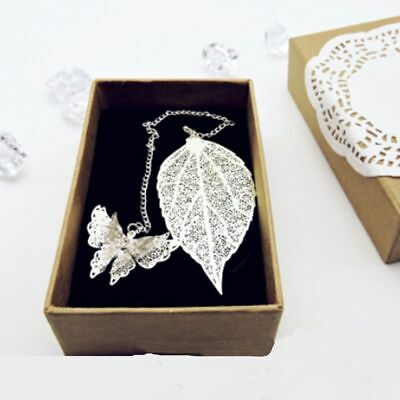 Gift Book Holder Office & School Supplies Butterfly Maple Leaf Metal Bookmark