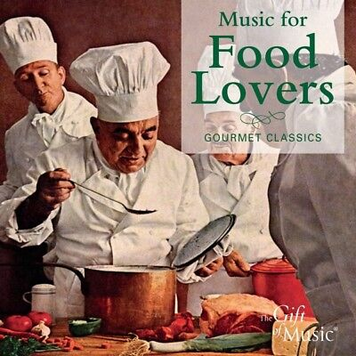 Various - Music for Food Lovers CD The Gift O NEW