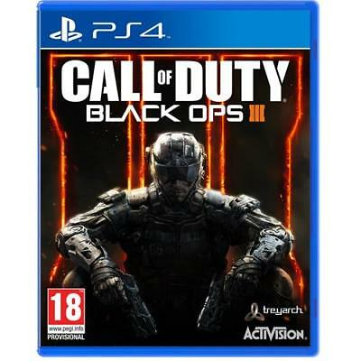 Call Of Duty Black Ops 3 PS4 III - Gioco per Sony Playstation 4 Nuovo e