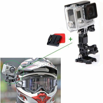 Motorcycle Riding Helmet Set Camera Accessories For Gopro 4/3+ AP