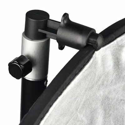 Portable Studio Background and Reflector Disc Holder Clip for Stand WQ
