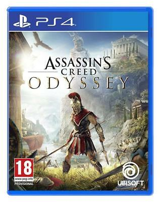 Assassin's Creed Odyssey (PS4) New Sealed PAL