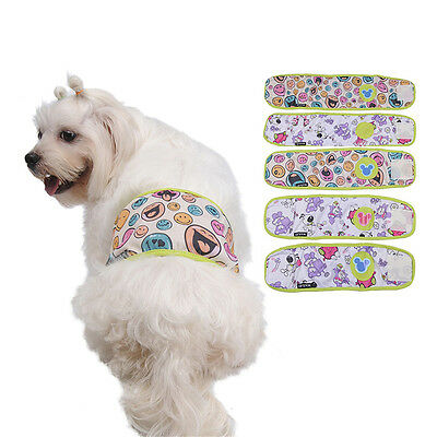 Male Pet Dog Belly Band Cotton Sanitary Nappy Underwear Physiological Pants