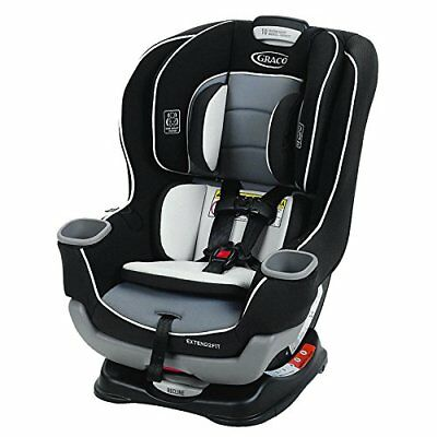 Graco Baby Extend2Fit Convertible Car Seat Infant Child Safety Gotham NEW 2019