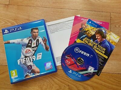 FIFA 19 PS4 Immaculate quick postage £24.99 B.I.N