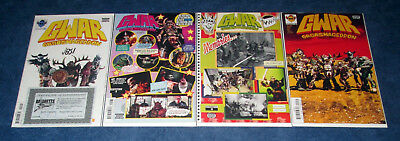 GWAR ORGASMAGEDDON #1 (signed) 2 3 4 PHOTO VARIANT 1st print set DYNAMITE COMIC
