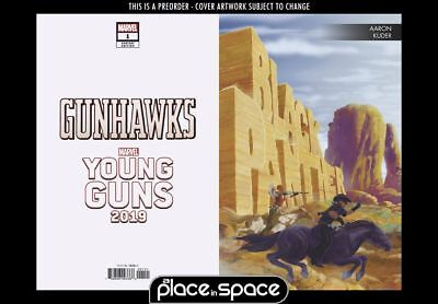 (Wk06) Gunhawks, Vol. 2 #1B - Kuder Young Guns Variant - Preorder 6Th Feb