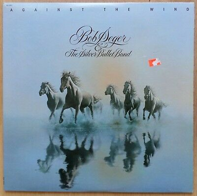 Bob Seger & Silver Bullet Band - Against The Wind - '80 Capitol Record Soo 12041