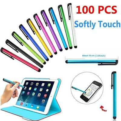 100x Multi-Color Universal Stylus Touch Screen Pen for Tablet Phone iPod-iPad PC