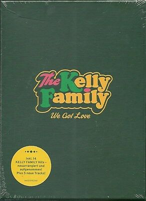 Kelly Family, The We Got Love CD Box Neu OVP Sealed Limited Fan Edition