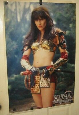 Xena: Warrior Princess LUCY LAWLESS vintage 1998 TV Poster 24x36