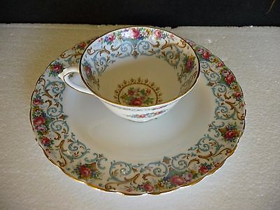 ORLEANS by TUSCAN ENGLISH BONE CHINA TEA CUP AND PLATE