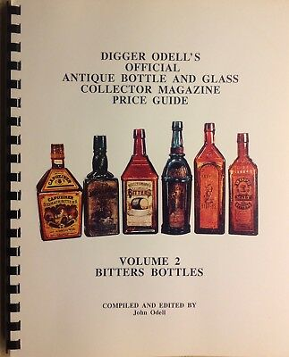 Digger Odell's VOL 2 BITTERS BOTTLES Antique Bottle & Glass Price Guide: