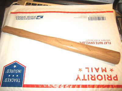 """Vintage Good Quality Hickory Hammer Handle In Very Good Condition 12"""""""