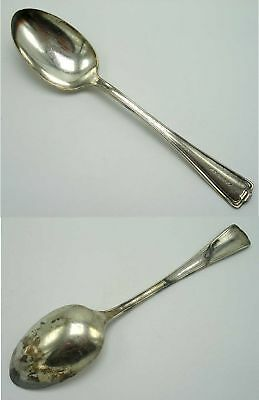 """Atchison Topeka & Santa Fe Railroad Dining Car Silver 8"""" Serving Spoon Cromwell"""