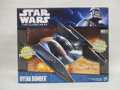 2010 Star Wars Clone Wars 30Th Anniversary Hyena Bomber Fighter New Sealed Box