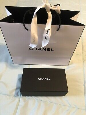 b0c9384fa2d4e5 AUTHENTIC EMPTY CHANEL Storage Gift Box Size Small New - $25.00 ...