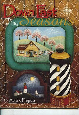 PAINTING BOOK -  DOWN EAST SEASONS by Geri Tilley