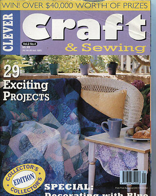 MAGAZINE -  CRAFT & SEWING Vol 2 No. 4