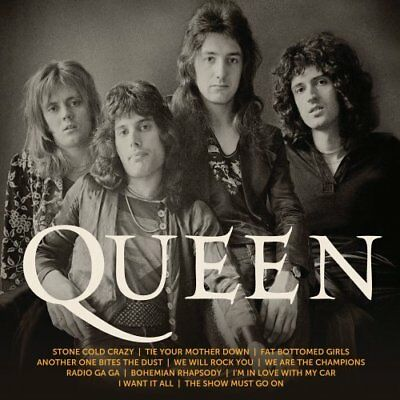 ICON Best Greatest Hits Classic Music Best of Queen Audio CD Queen Classic Rock