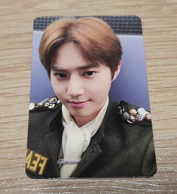 EXO K M 5th Album Don't Mess Up My Tempo Andante Suho Photo Card Official