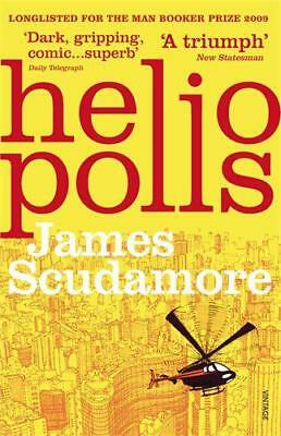 Heliopolis by James Scudamore, NEW Book, (Paperback) FREE & Fast Delivery