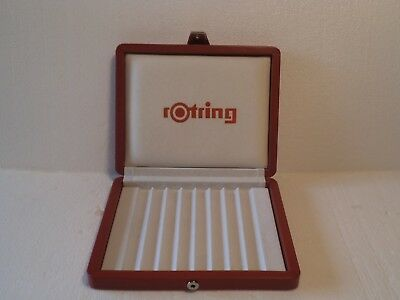 ----------------- Rotring Leather Pen Tray  Pen Stand ---------------
