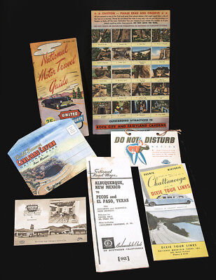 Vintage US Travel Souvenirs ~Mixed Lot ~ 1940-1950 ~ Great Graphics!!