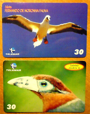 Bresil - Serie Oiseaux - Lot De 2 Cartes Differentes - 3