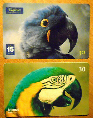 Bresil - Serie Oiseaux - Lot De 2 Cartes Differentes - 4
