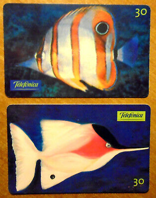 Bresil - Serie Poissons - Lot De 2 Cartes Differentes - 1
