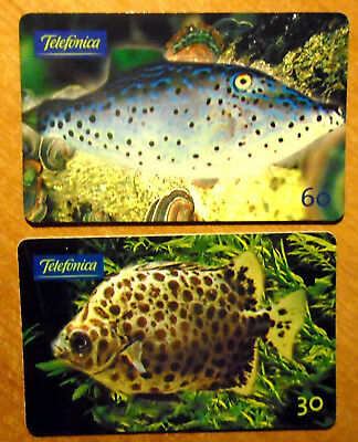 Bresil - Serie Poissons - Lot De 2 Cartes Differentes - 2