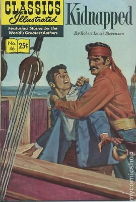 Classics Illustrated 046 Kidnapped #16 1970 VG- 3.5 Stock Image Low Grade