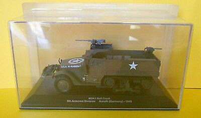 DIE CAST TANK M3A1 Half Track - 5 th Armored Division Anrath Germany 1945 020