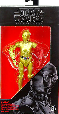 "Star Wars Black Series C-3Po (Resistance Base) Actionfigure 6"" Inch Hasbro #29"