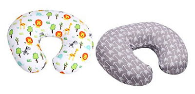 SALE - MyTickles Nursing Pillow and Positioner (With TWO Slipcovers), Grey