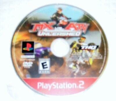 MS VS ATV Unleashed Playstation 2 DVD rated E no case